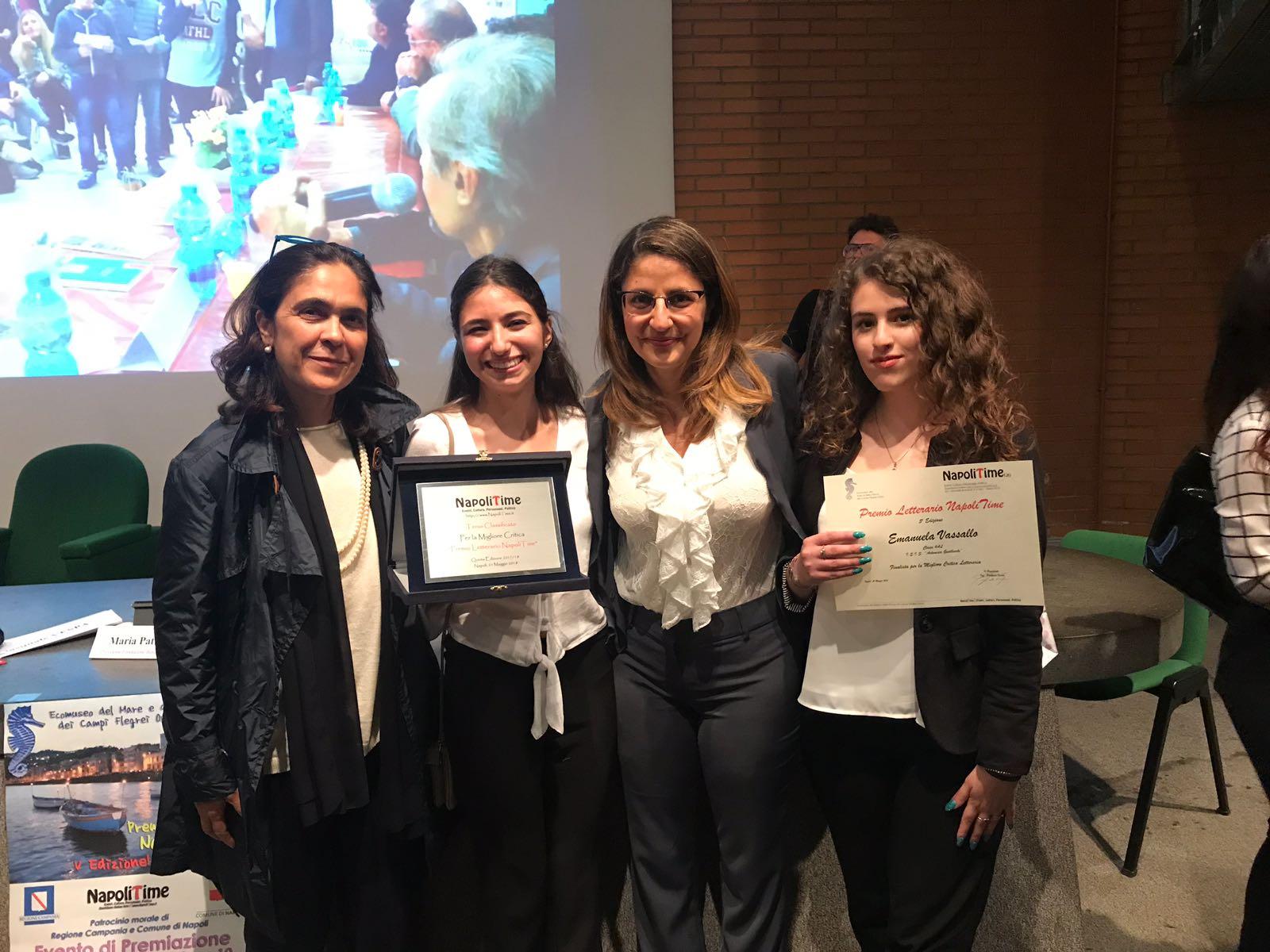Premio letterario Napolitime V edizione