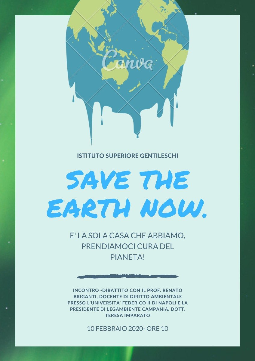 Save the Earth Now!